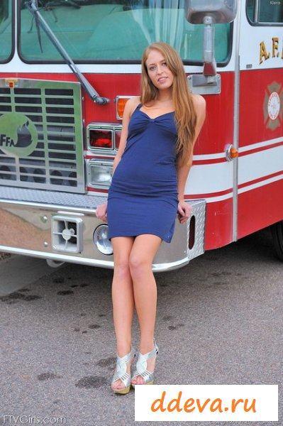Пожарница перед сменой