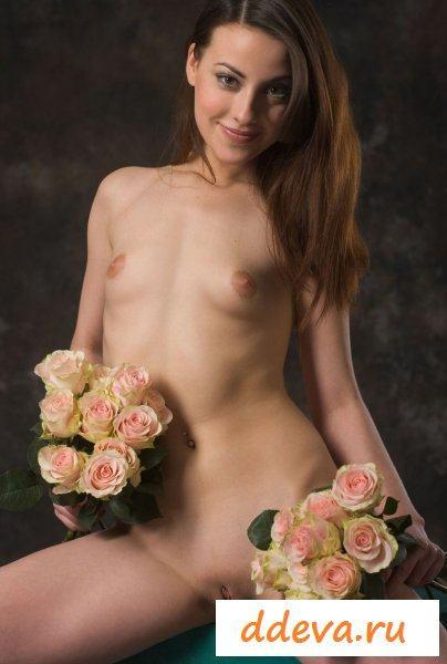 Продавщица из цветочного