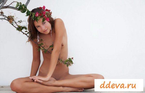 Любительница экзотических растений