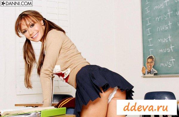 Удивила преподавателя после урока