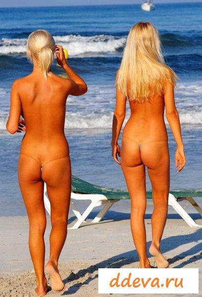 Лесбиянки на пляже